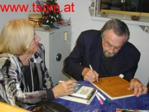 Hans, Lotte Hass, signieren meiner Buecher